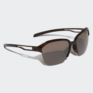 Exhale Sunglasses Brown / Black / Silver Metallic CL0741