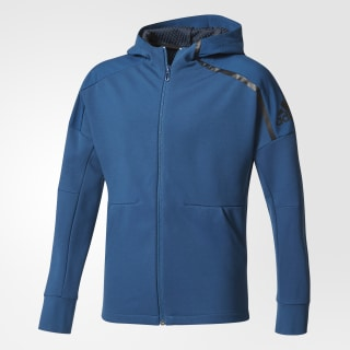 Худи adidas Z.N.E. Duo blue night f17 / black CF2199
