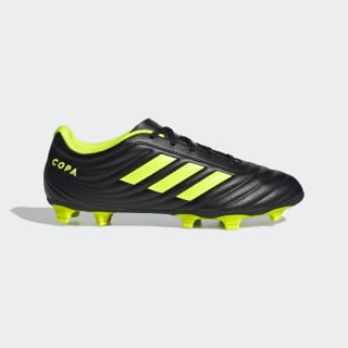 Chimpunes de Fútbol Copa 19.4 Terreno Flexible Core Black / Solar Yellow / Solar Yellow BB8091