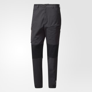 Hommes White Mountaineering Woven Pants Black BQ4098