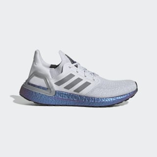Chaussure Ultraboost 20 Dash Grey / Grey Three / Boost Blue Violet Met. EG0755