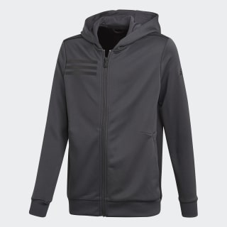 Chaqueta con capucha Training Carbon/Black CF7105