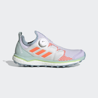 TERREX Agravic Boa Trailrunning-Schuh Purple Tint / Signal Coral / Green Tint EH0199