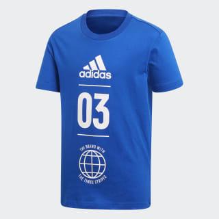 Camiseta Sport ID Collegiate Royal / White DV1706