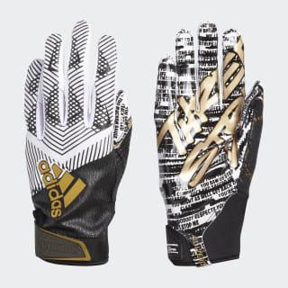 Adizero 8.0 Three Stripe Life Gloves White Black CM5001
