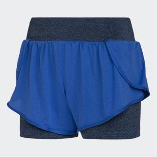 Shorts Duplo HI-RES BLUE S18/HI-RES BLUE S18/BLACK CV3776