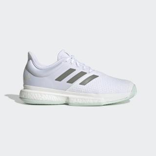SoleCourt Schuh Cloud White / Legacy Green / Green Tint EG1482