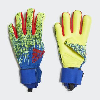 Guantes de portero Predator Pro Solar Yellow / Bold Blue / Active Red DN8587
