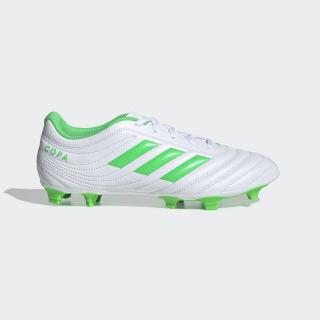 Chimpunes de Fútbol Copa 19.4 Terreno Flexible ftwr white / solar lime / ftwr white D98069