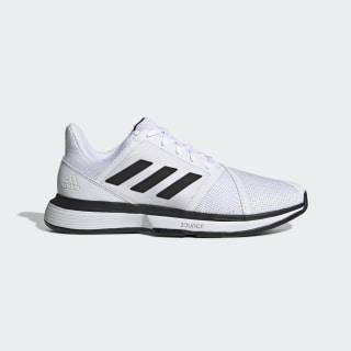 CourtJam Bounce Wide Shoes Cloud White / Core Black / Matte Silver EE4119