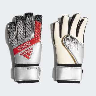 Predator Competition Goalkeeper Gloves Silver Met. / Black DY2603