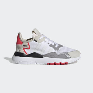 Nite Jogger sko Beige / Crystal White / Shock Red DB2809