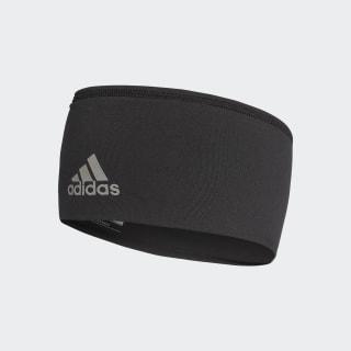 Wide Stirnband Black / Black / Reflective Silver BR0805