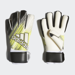 Guanti Classic League Black / Solar Yellow / White DY2619