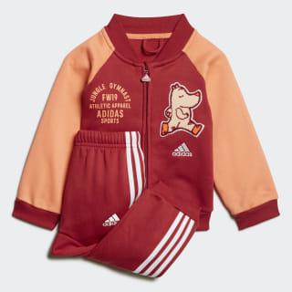 Спортивный костюм Baseball Fleece active maroon / semi coral ED1138