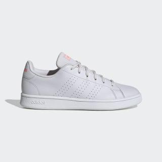 Advantage Base Shoes Dash Grey / Dash Grey / Signal Coral EG3959