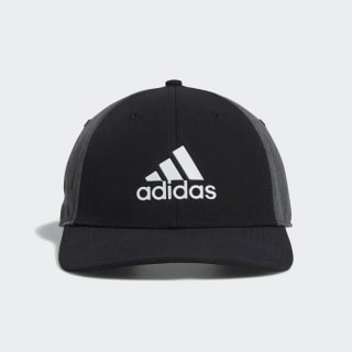 A-Stretch adidas Badge of Sport Tour Hat Black DX0599