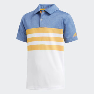 3-Stripes Polo Shirt Real Gold CE3162