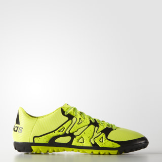 Calzado para Fútbol X 15.3 Pasto Artificial SOLAR YELLOW/CORE BLACK/FROZEN YELLOW B32972