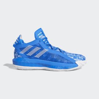 Dame 6 Shoes Glow Blue / Cloud White / Glow Blue EH2441