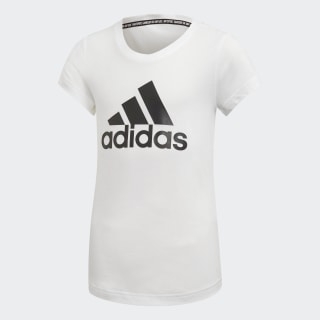 Playera Must Haves Badge of Sport White / Black ED4604