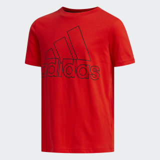 PERFORMANCE LOGO TEE Active Red CL0908