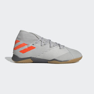 Футбольные бутсы (футзалки) Nemeziz 19.3 IN grey two f17 / solar orange / chalk white EF8289