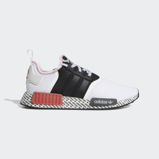 NMD_R1 Shoes Core Black / Cloud White / Lush Red FV7848