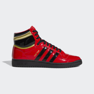 Top Ten Hi Shoes Scarlet / Core Black / Cloud White FV5501