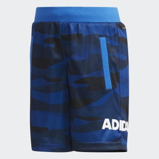 LB SHORT2 collegiate royal / white DW4066