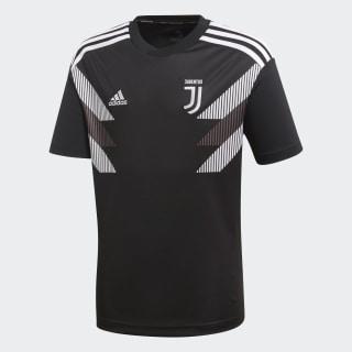 Jersey Juventus Pre Niño 2018 BLACK/WHITE CW5822