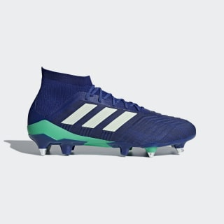 Calzado de fútbol Predator 18.1 Soft Ground UNITY INK F16/AERO GREEN S18/HI-RES BLUE S18 CP9262