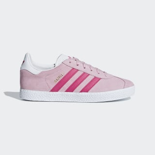 Gazelle Shoes Clear Pink / Real Magenta / Cloud White B41517