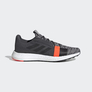 Кроссовки для бега Senseboost Go grey six / core black / solar red G26942