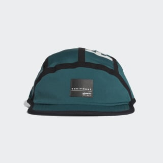 EQT Contrast Seam Five-Panel Cap Mystery Green / Black / White CD6950