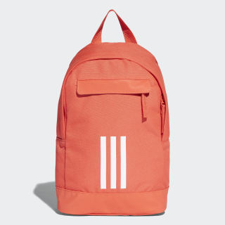 adidas Classic 3-Stripes Backpack Extra Small Orange/Bright Red/White/White CV7152