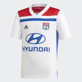 Olympique Lyonnais Home Jersey White / Collegiate Red CK3175