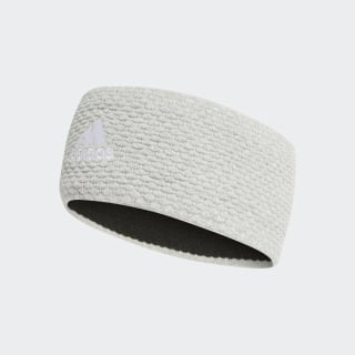 Graphic Stirnband Medium Grey Heather / White DY4909