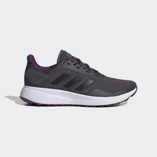 Zapatillas Duramo 9 Grey Six / Core Black / Glory Purple EG2946