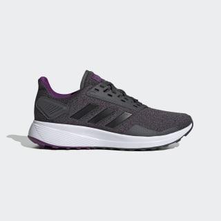 Zapatillas para correr Duramo 9 Grey Six / Core Black / Glory Purple EG2946