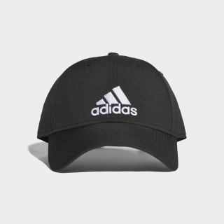 Classic Six-Panel Lightweight Cap Black / Black / White S98159
