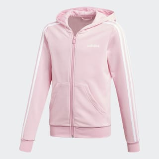 Essentials 3-Stripes Hoodie True Pink / White DV0369