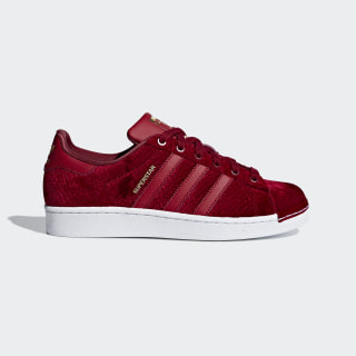 Zapatillas SUPERSTAR W NOBLE MAROON/NOBLE MAROON/FTWR WHITE B41512
