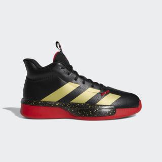 Tenis de básquet Pro Next 2019 Core Black / Gold Metallic / Scarlet EG2799