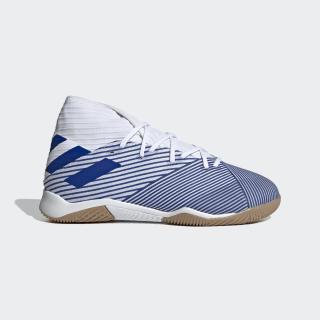 Sapatos de Futebol Nemeziz 19.3 – Pavilhão Cloud White / Team Royal Blue / Team Royal Blue EG7224