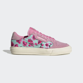 Continental Vulc Shoes Semi Solar Pink / Core Black / Easy Green EG7977