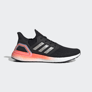 Ultraboost 20 Ayakkabı Core Black / Cloud White / Signal Coral EG0756