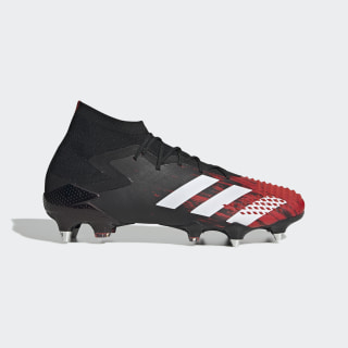 Predator Mutator 20.1 Soft Ground Boots Core Black / Cloud White / Active Red EF1647