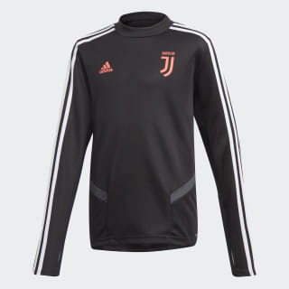 Juventus Training Top Black / Dark Grey DX9146