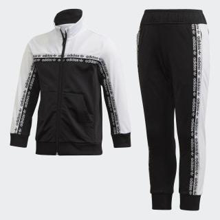 Conjunto Pants con Sudadera Black / White FN0938
